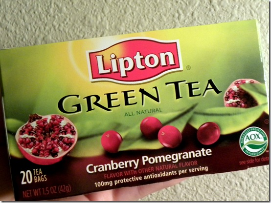Lipton Cranberry Pomegranate Green Tea