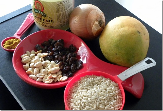 Fruit Curry Ingredients