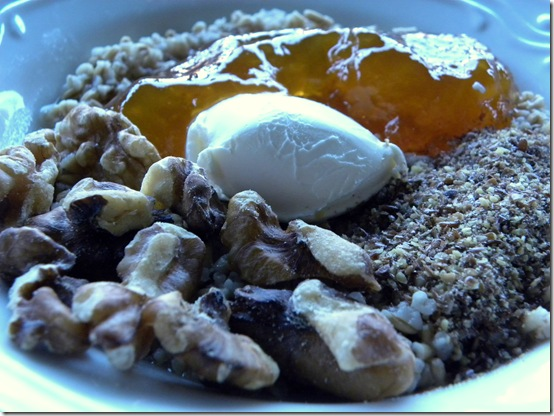 Cream cheese oats