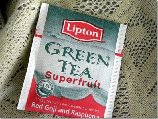 Lipton Red Goji and Raspberry Tea