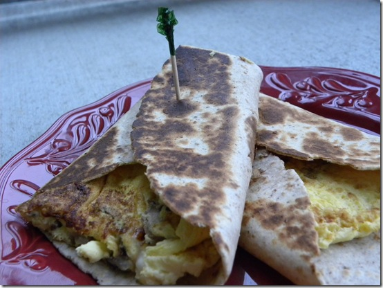 Breakfast tortillas