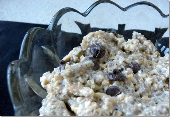 chocolate chip oats