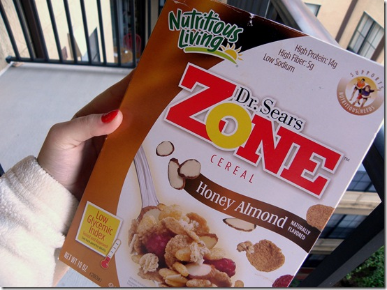 Dr. Sears Zone Honey Almond