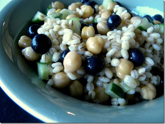 blueberry chickpea barley