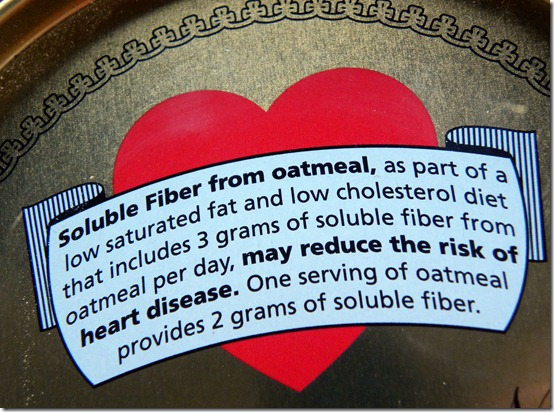 oatmeal fiber