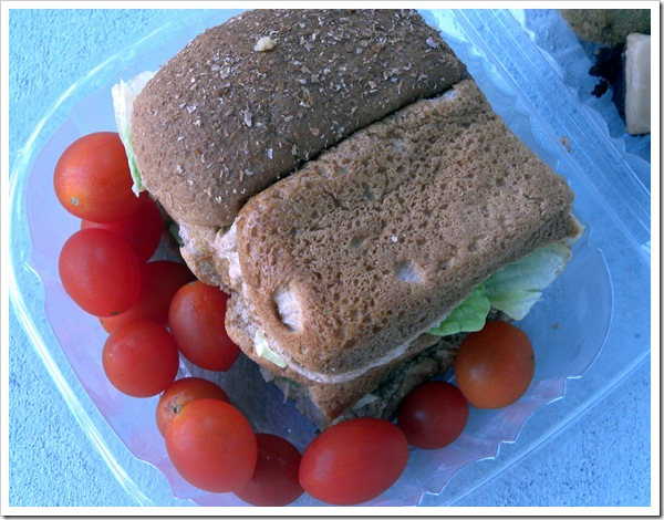 lunch sandwich