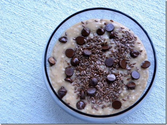 chocolate peanut butter oats
