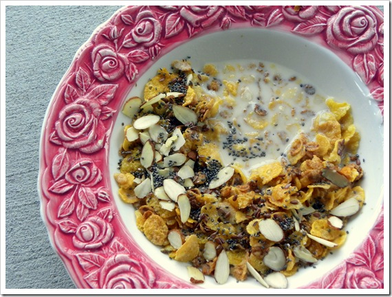 365 honey crunch and oats cereal