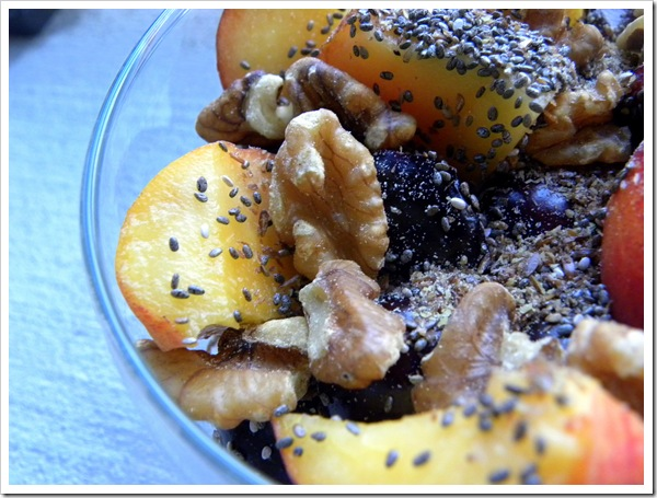 fruit nuts flax chia